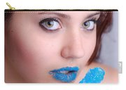 Blue Candy Carry-all Pouch