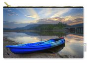 Blue Canoe At Sunset Carry-all Pouch