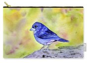 Blue Chaffinch Carry-all Pouch