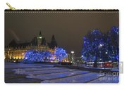 Blue Christmas.. Carry-all Pouch
