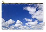 Blue Cloudy Sky Panorama Carry-all Pouch