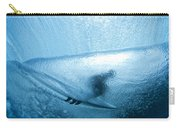 Blue Cocoon Carry-all Pouch by Sean Davey
