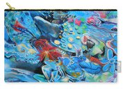 Blue Confusion Carry-all Pouch
