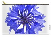 Blue Cornflower Flower Carry-all Pouch