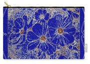 Blue Cosmos Abstract Carry-all Pouch