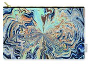 Blue Crazy Lace  Carry-all Pouch