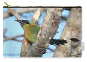 Blue-crowned Motmot Carry-all Pouch