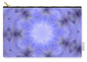 Blue Crystallized 1  Carry-all Pouch