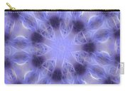 Blue Crystallized 2  Carry-all Pouch