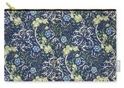 Blue Daisies Design Carry-all Pouch