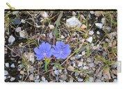Blue Daisy Carry-all Pouch