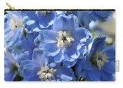 Blue Delphinium 9656 Carry-all Pouch