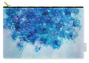 Blue Delphiniums Carry-all Pouch