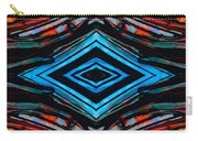 Blue Diamond Art By Sharon Cummings Carry-all Pouch