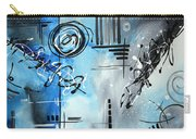 Blue Divinity By Madart Carry-all Pouch