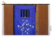 Blue Door At Old Santa Fe Carry-all Pouch