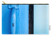 Blue Door Handle Carry-all Pouch