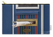 Blue Door Carry-all Pouch by Heiko Koehrer-Wagner