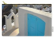 Blue Door Of Oia Carry-all Pouch