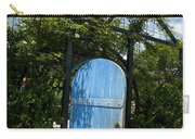 Blue Door To Childrens Garden Huntington Library Carry-all Pouch