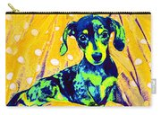 Blue Doxie Carry-all Pouch