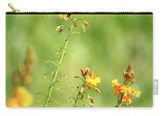 Blue Dragonfly In The Flower Garden Carry-all Pouch