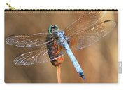 Blue Dragonfly Square Carry-all Pouch