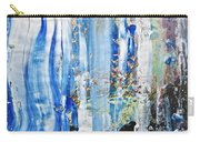Blue Earth Abstract Carry-all Pouch