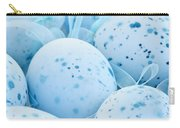 Blue Easter Eggs Carry-all Pouch