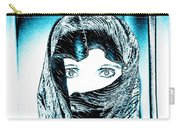 Blue Eye Lady Carry-all Pouch