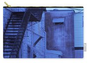 Blue Fire Escape Usa Near Infrared Carry-all Pouch