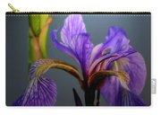 Blue Flag Iris Flower Carry-all Pouch