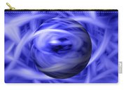 Blue Flame Background Carry-all Pouch