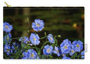Blue Flax By The Pond Carry-all Pouch