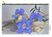 Blue Flower Still Life Carry-all Pouch