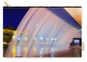 Blue Fountain At Night Carry-all Pouch