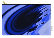 Blue Fractal Carry-all Pouch