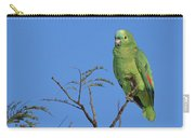 Blue-fronted Parrot Emas National Park Carry-all Pouch