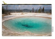 Blue Funnel Spring In West Thumb Geyser Basin Carry-all Pouch