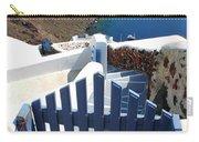 Blue Gate Oia Santorini Greek Islands Carry-all Pouch