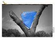 Blue Glass Art Carry-all Pouch