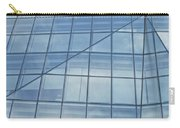 Blue Glass Chicago Facade Carry-all Pouch
