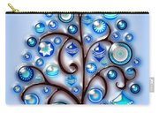 Blue Glass Ornaments Carry-all Pouch