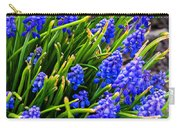 Blue Grape Hyacinth Carry-all Pouch