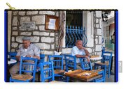 Blue Greek Taverna Carry-all Pouch