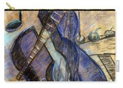 Blue Guitar - About Pablo Picasso Carry-all Pouch