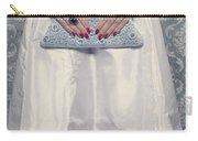 Blue Handbag Carry-all Pouch