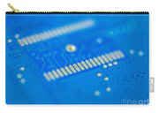 Blue Hard Drive Carry-all Pouch