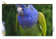 Blue Headed Pionus Parrot Carry-all Pouch