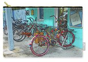 Blue Heaven Key West Bicycles Carry-all Pouch